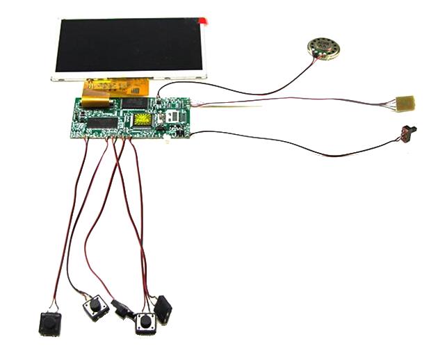 Moduł LCD